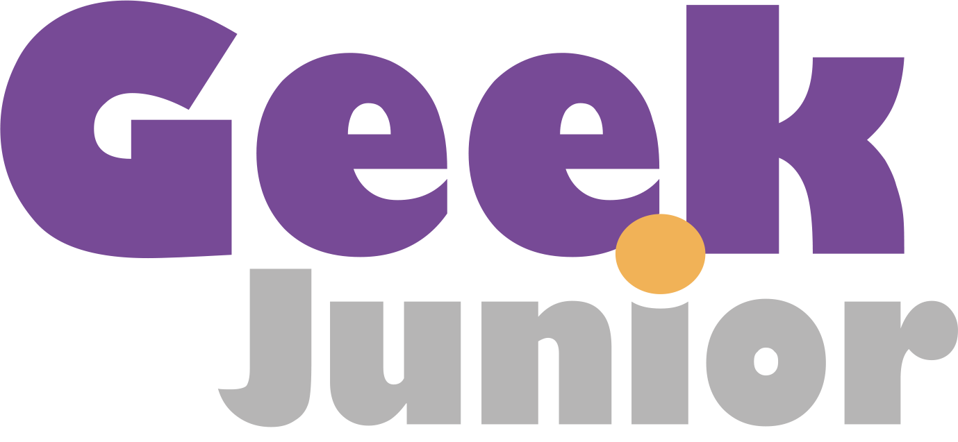 logo magazine geek junior